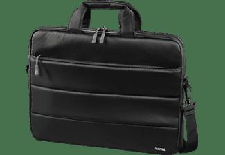 HAMA Toronto 14.1 Zoll Notebook-Umhängetasche für Universal Nylon, Schwarz