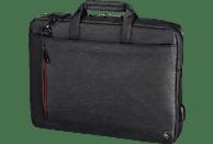 HAMA Manchester Notebooktasche Umhängetasche für Universal Polyester, Schwarz