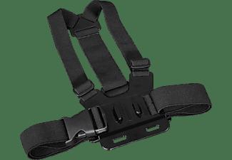 HAMA Brustgurt für GoPro, Brustgurt, Schwarz, passend für GoPro