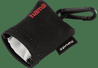 HAMA Pocket, Trockenreinigungstuch, Hellgrau/Schwarz