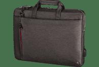 HAMA Manchester Notebooktasche Umhängetasche für Universal Polyester, Braun