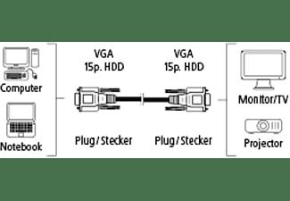 HAMA 5 m, VGA-Kabel, 5 m