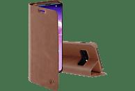 HAMA Guard Pro, Bookcover, Samsung, Galaxy S10e, Braun