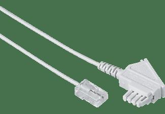 HAMA TAE-F-Stecker an Modular-Stecker 8p2c, DSL-Box-Kabel, 10 m