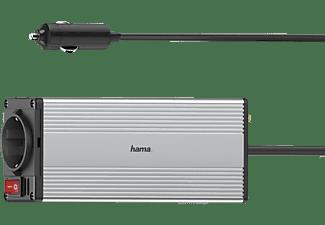 HAMA Power KFZ - DC/AC-Inverter Universal, 230 Volt, Silber/Schwarz