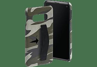 HAMA Camouflage Loop, Backcover, Samsung, Galaxy S10e, Grün/Schwarz