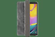 HAMA Used-Look Tablethülle Bookcover für Samsung Polyurethan, Grau