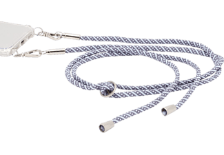 HAMA Cross-Body-Band Handykette Weiß/Grau