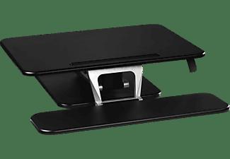 HAMA S (68,0 x 52,0 cm) Aufsatz für Sitz-Steh-Arbeitsplatz, Schwarz