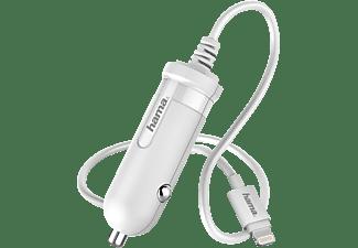 HAMA Easy Kfz-Ladegerät Apple, 5 Volt, Weiß