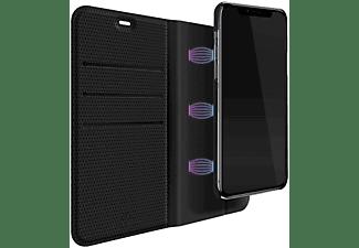 BLACK ROCK 2in1, Bookcover, Apple, iPhone 11, Schwarz