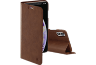 HAMA Guard Pro, Bookcover, Apple, iPhone XS Max, Braun