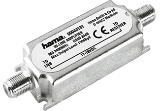 HAMA 20 dB SAT-Inline-Verstärker