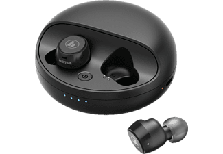 HAMA Disc, In-ear Full Wireless Kopfhörer Bluetooth Schwarz