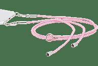 HAMA Cross-Body-Band Handykette Pink/Weiß