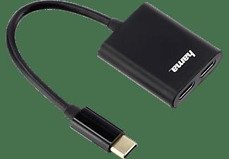 HAMA 2in1 USB-C-Adapter