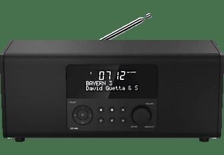HAMA DR1400 Digitalradio, DAB, DAB+, FM, Schwarz