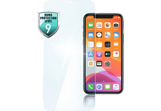 HAMA Premium Crystal Glass Schutzglas (für Apple iPhone X/XS/11 Pro)