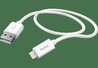 HAMA Basic Line, Datenkabel/Ladekabel, 0,6 m, Weiß