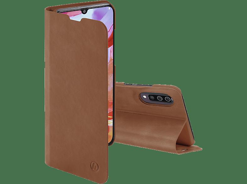 HAMA Guard Pro, Bookcover, Samsung, Galaxy A70, Braun