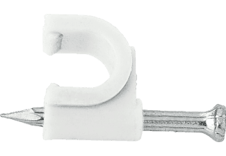 HAMA 25 Stück Nagelschellen für SAT-/Antennenkabel