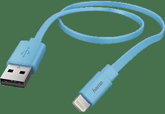 HAMA Lightning, Lade-Sync-Kabel, 1,2 m, Blau
