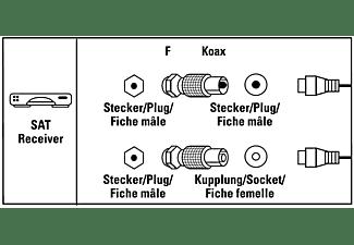 HAMA F-Stecker - Koax Koax Stecker