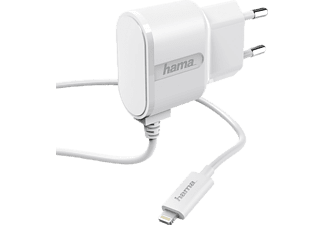 HAMA Lightning Ladegerät Apple, 5 Volt, Weiß