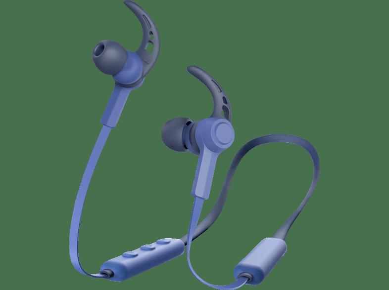 HAMA Neckband, In-ear Kopfhörer Bluetooth Blue Depths