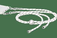 HAMA Cross-Body-Band Handykette Schwarz/Weiß