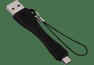 HAMA Micro USB Kurzkabel, Ladekabel, Schwarz