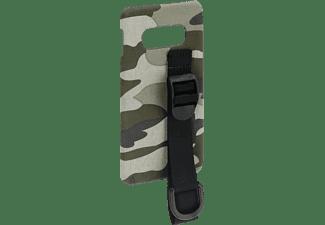HAMA Camouflage Strap, Backcover, Samsung, Galaxy S10e, Grün/Schwarz