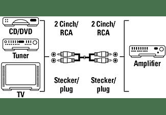 HAMA Audio, Cinch Kabel, 1,2 m