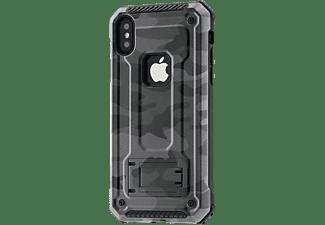 HAMA Army, Backcover, Apple, iPhone X/Xs, Grau/Schwarz
