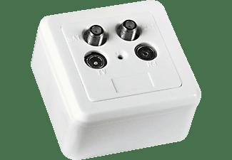 HAMA Twin-Enddose Antennen-/SAT-/BK-Dose