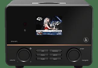 HAMA DR1610BTS Digitalradio, DAB, DAB+, FM, Bluetooth, Schwarz