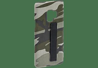HAMA Camouflage Loop, Backcover, Samsung, Galaxy S9, Grün/Schwarz