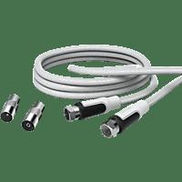 HAMA F-Stecker - F-Stecker TV-Anschlusskabel