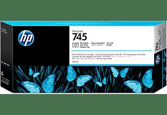 HP 745 Tintenpatrone Foto schwarz (F9K04A)