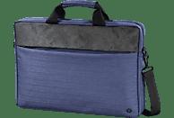 HAMA Tayrona 15.6 Zoll Notebooktasche Umhängetasche für Universal Polyester, Polyurethan, Dunkelblau