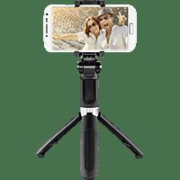 HAMA Funstand 57 Selfie-Stick, Schwarz