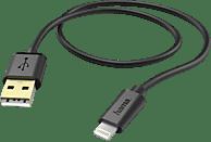 HAMA Lightning, Lade-/Datenkabel, 1,5 m, Schwarz
