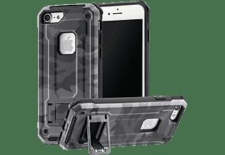 HAMA Army, Backcover, Apple, iPhone 7/8, Grau/Schwarz