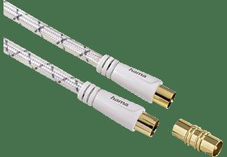 HAMA Koax-Steck.- Koax-Kuppl. Antennen-Kabel