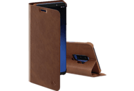 HAMA Guard Pro, Bookcover, Samsung, Galaxy S9+, Braun