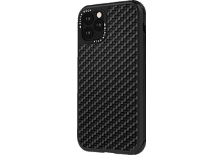 BLACK ROCK Robust Real Carbon, Backcover, Apple, iPhone 11 Pro Max, Schwarz