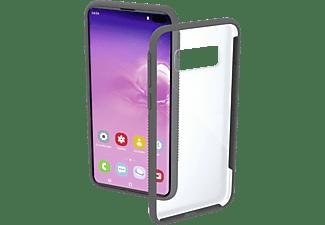 HAMA Frame, Backcover, Samsung, Galaxy S10+, Transparent/Grau