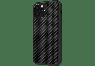 BLACK ROCK Robust Real Carbon, Backcover, Apple, iPhone 11, Schwarz
