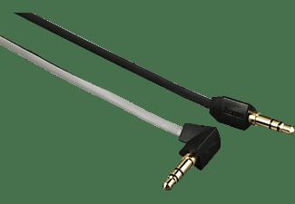 HAMA 3.5 mm Klinken-Stecker 90° gewinkelt auf 3.5 mm Klinken-Stecker, Audio Kabel, 1,5 m