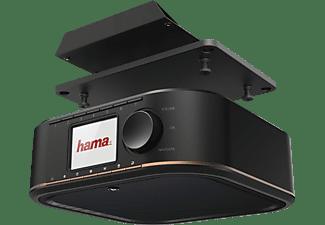 HAMA DR350 Digitalradio, FM, DAB+, DAB, Schwarz